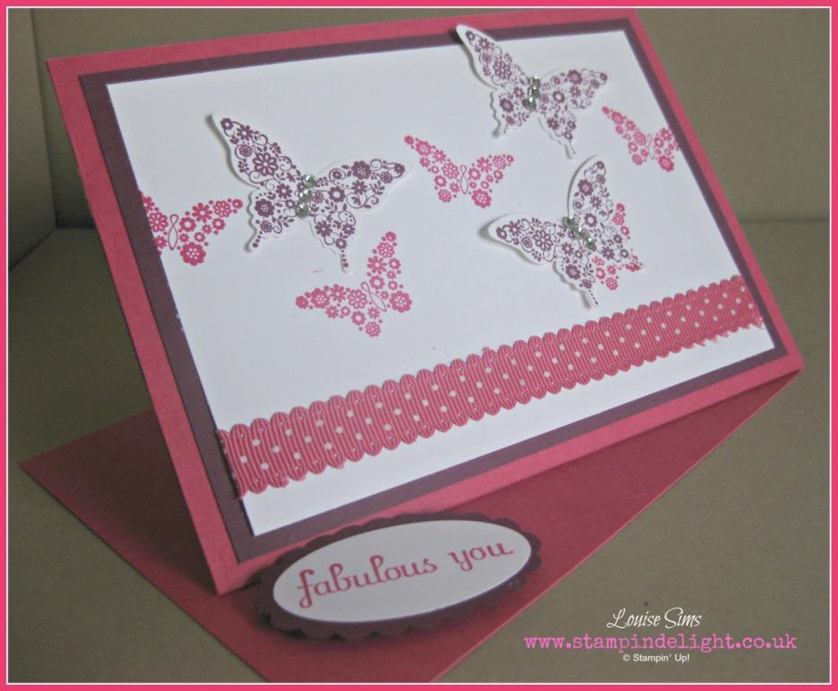 Papillion Potpurri Twisted Easel Card