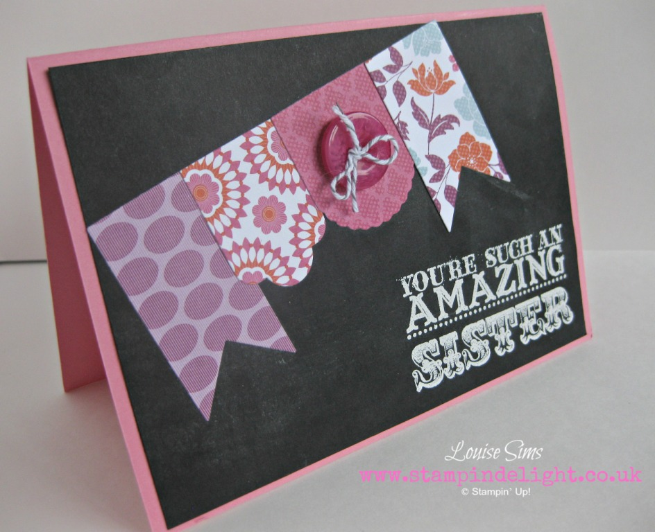 Amazing Family Stampin Up Hearts a Flutter
