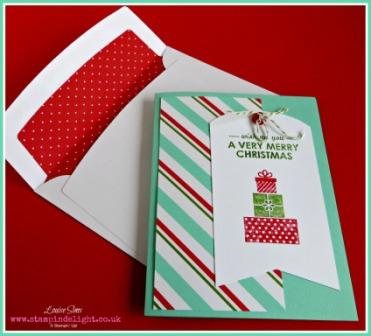 Simply Created Merry Christmas kit Stampin' Up!