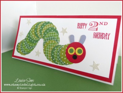 Meet the Hungry Caterpillar Stampin Delight – Hungry Caterpillar Birthday Card