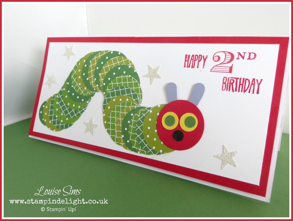 Meet The Hungry Caterpillar Stampin Delight