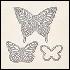 Butterflies Thinlets 137360