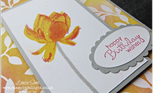 Lotus Blossom Stamp Set Archives Stampin Delight