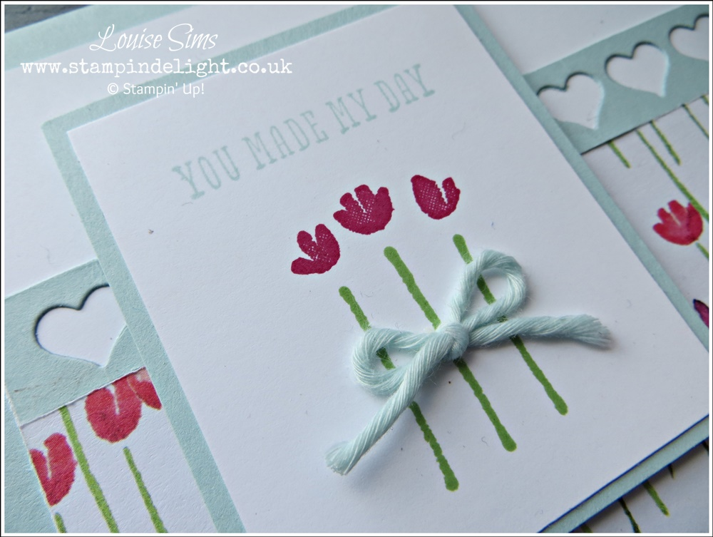 Painted Blooms Heart Border Card (1)