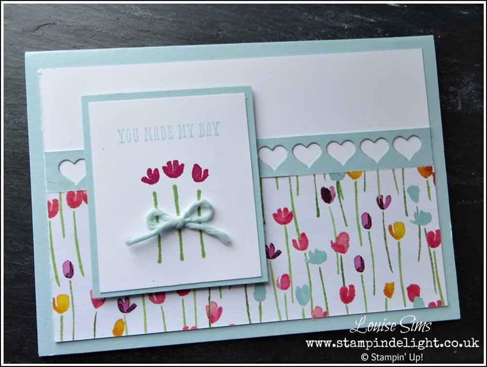 Painted Blooms Heart Border Card (3)