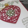 Stampin' Up Embellished Ornament Christmas Card