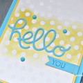 Stampin' Up Color Me Irresistible Papers make a great background.