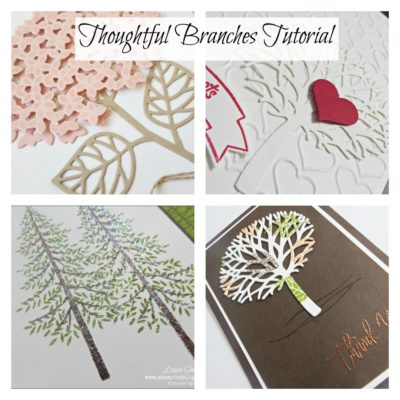 Free Class Thoughtful Branches - Buy the Bundle and receive materials and instructions for 4 gorgeous cards for FREE!