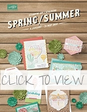 Stampin Up Spring Summer UK Demonstrator