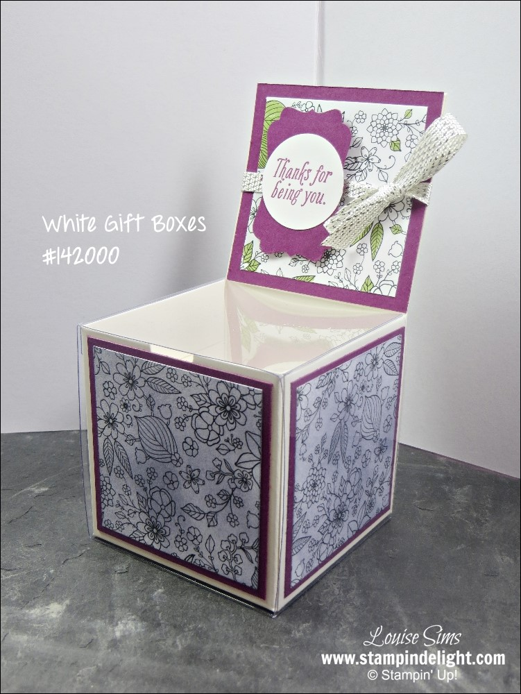 Gift Wrap made easy with Stampin' Up!
