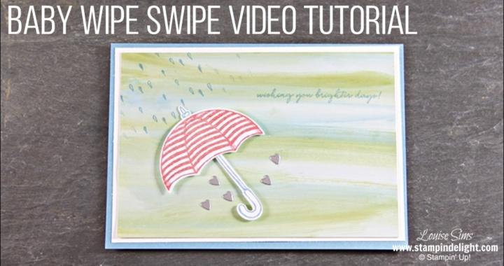 Baby Wipe Swipe Video Tutorial