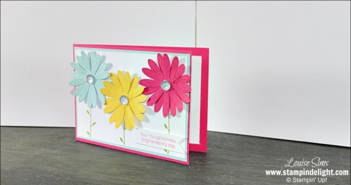 Stampin Up Daisy Delight & Punch