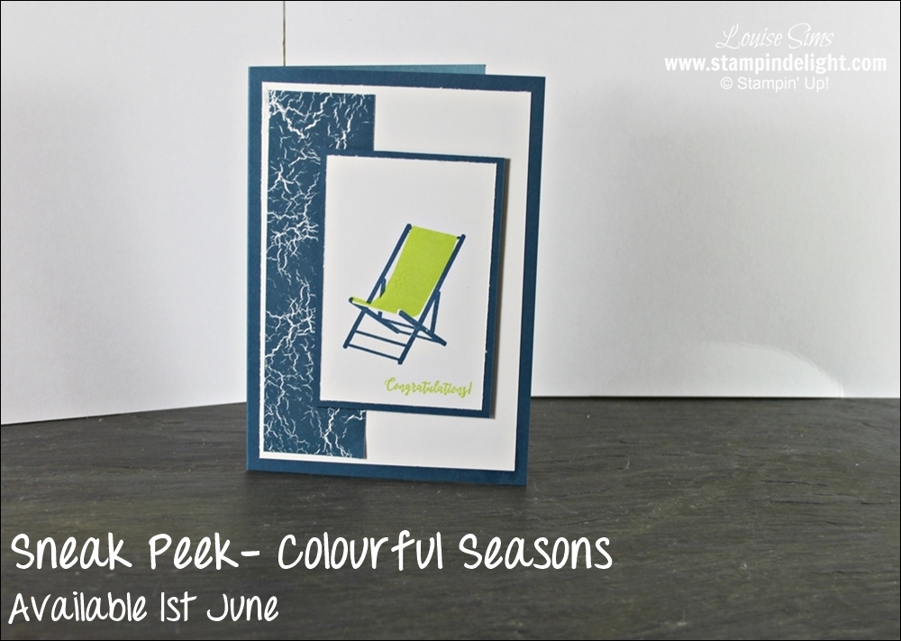 Stampin' Up' Colour Theory Product suite - colours and images for the whole year of papercrafting