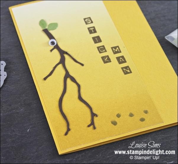 Seasonal Layers Stick Man Card