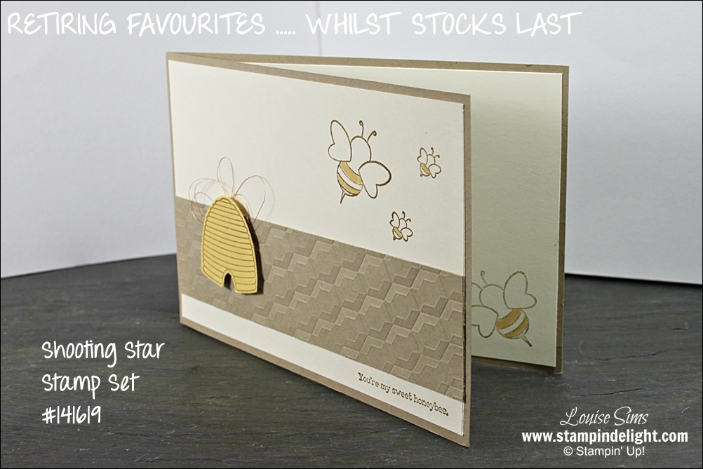 Shooting Star Stamp Set is full of cute and fun images.