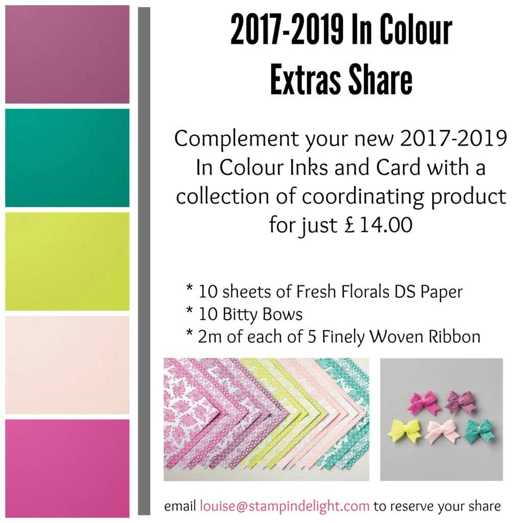 Stampin' Up! In Colour Product Shares