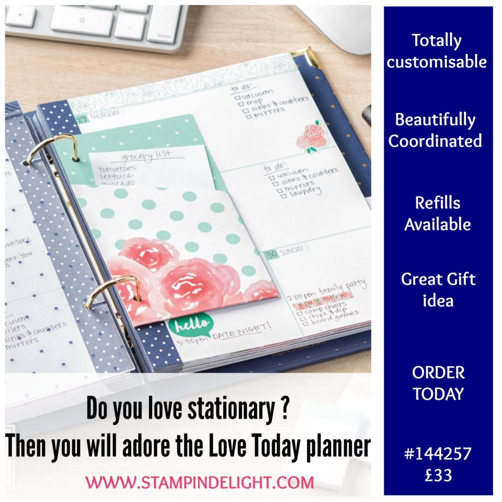 organise your life with the Love Today Planner