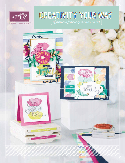 Stampin Up! Annual Catalogue 2017 - 2018
