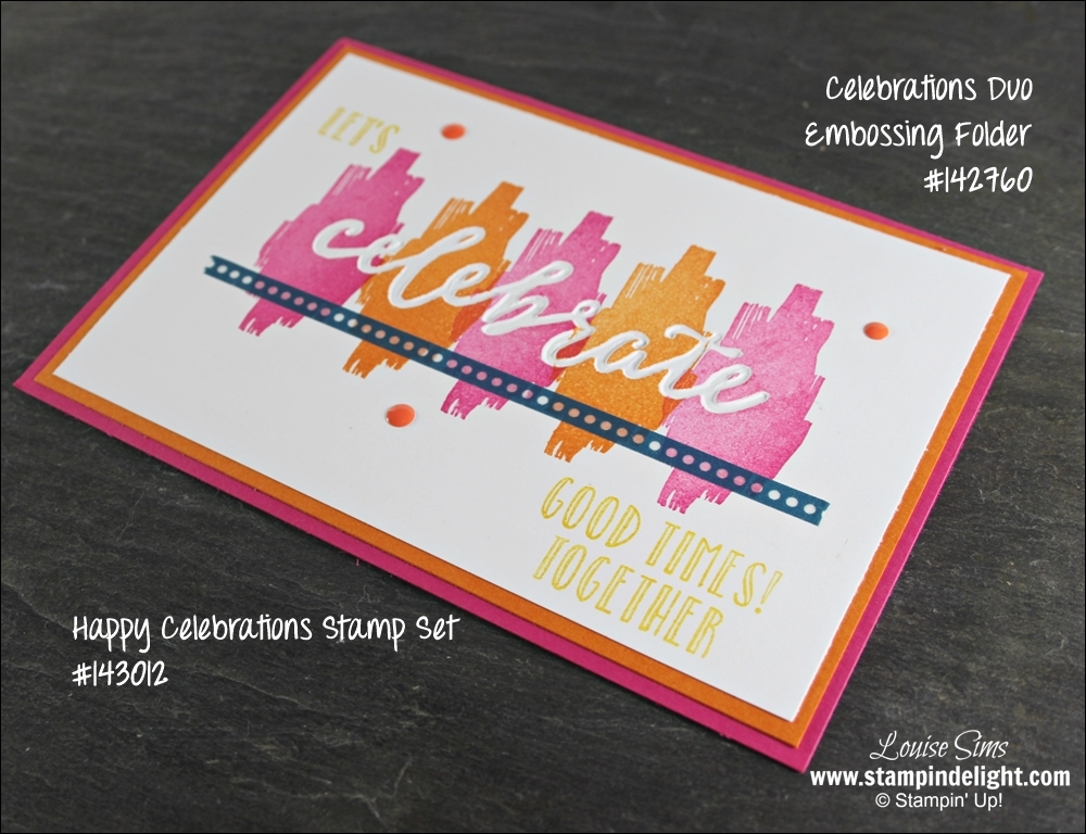 Happy Celebrations Stamp Set