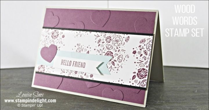 Stampin' Up!'s Wood Words Stamp Set