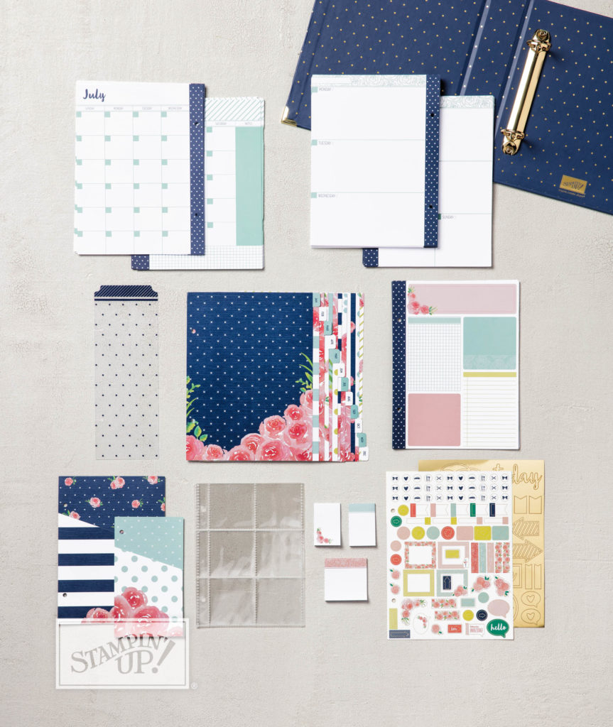 Planners for getting organised all in one simple kit for £33