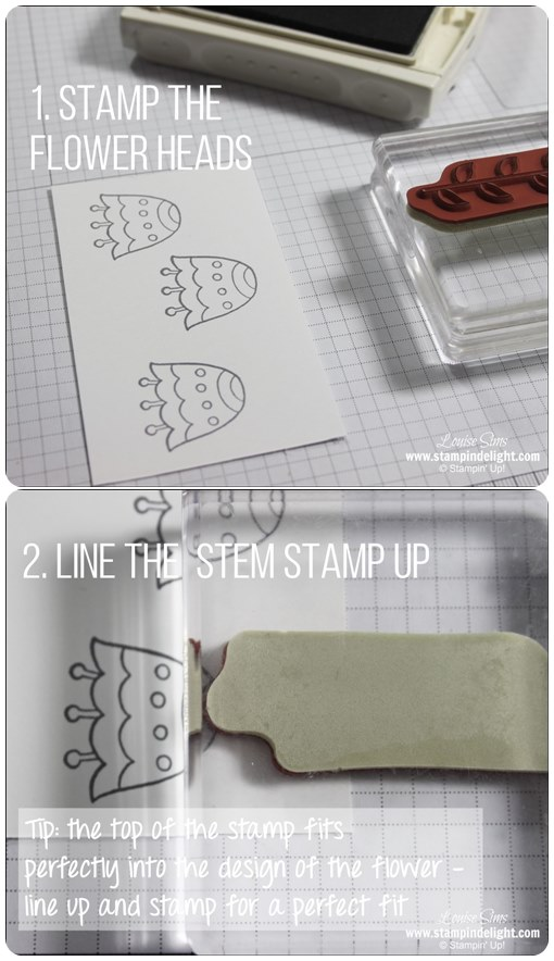 Top Tip for Stamp Set for perfect alignment