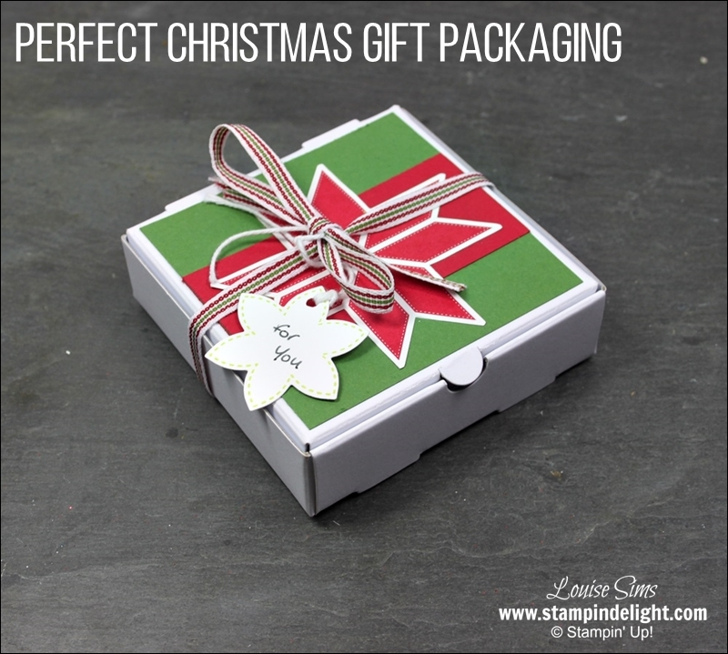 Stampin' Up! Christmas Gift Packaging Stampin' Delight