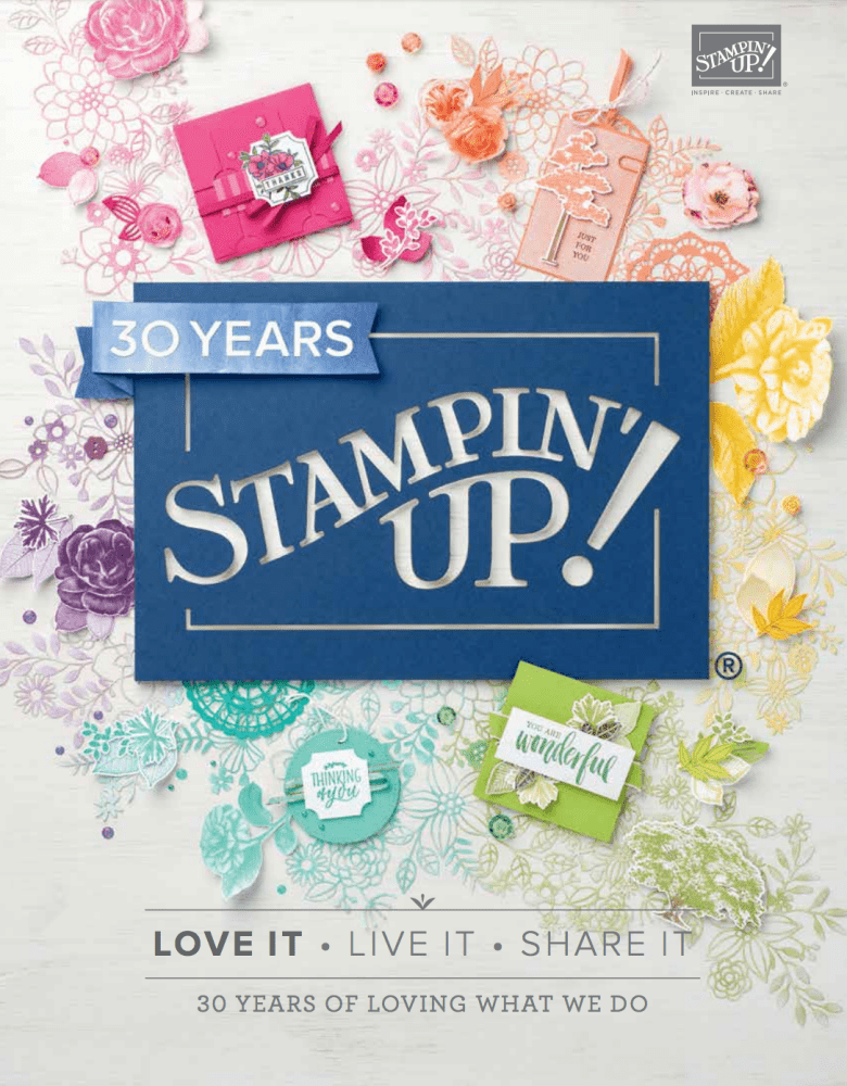 Annual Catalogue Stampin' Up! 2018-2019 UK Demonstrator