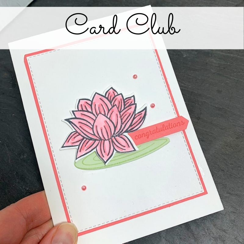 Card Club June Rugeley Stampin Delight